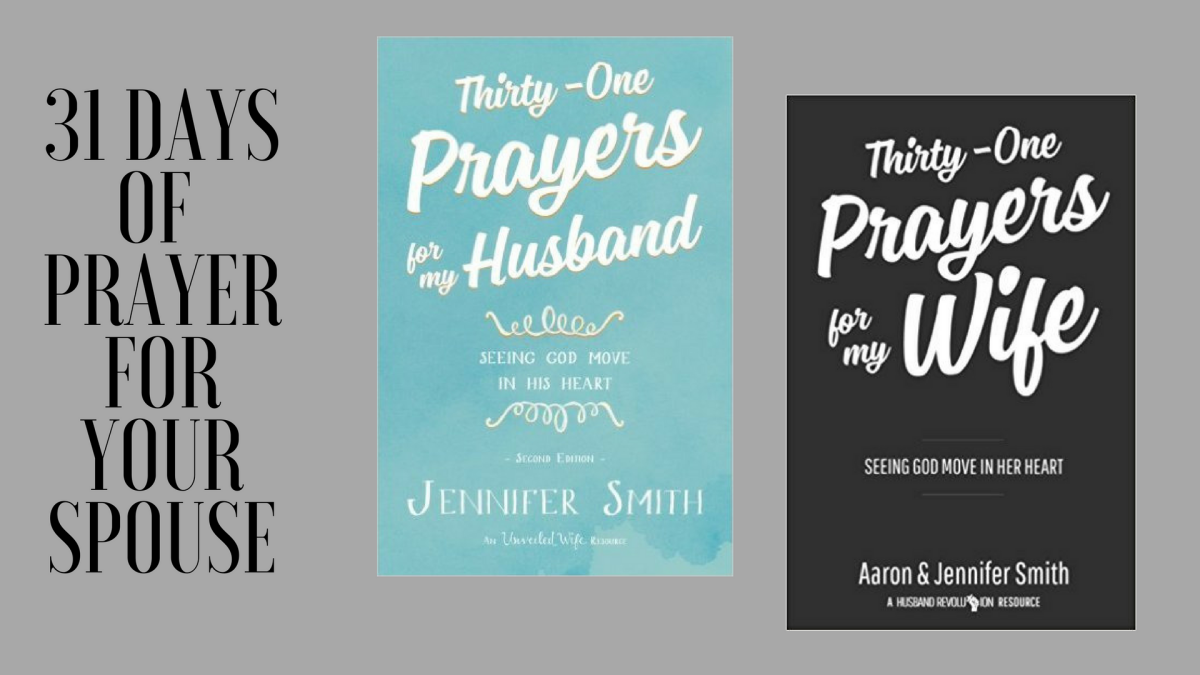 """31 Days of Prayer for Your Spouse"""