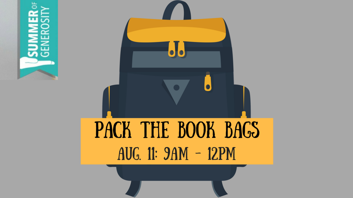 """Pack the Book Bags"" - Day of Service"
