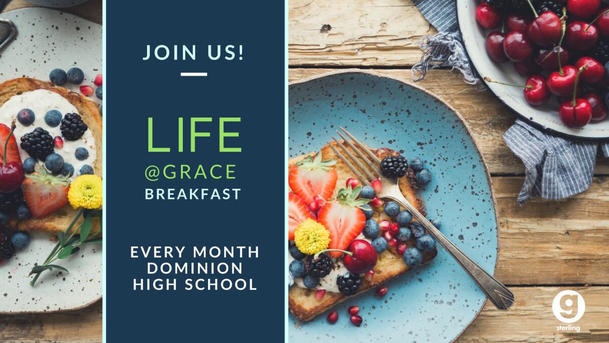 Life@Grace Live Breakfast (Sterling)