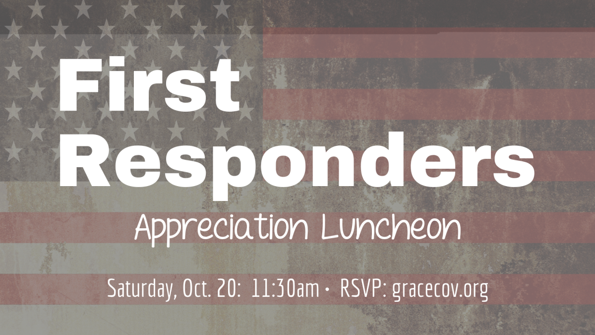 First Responders Appreciation Luncheon