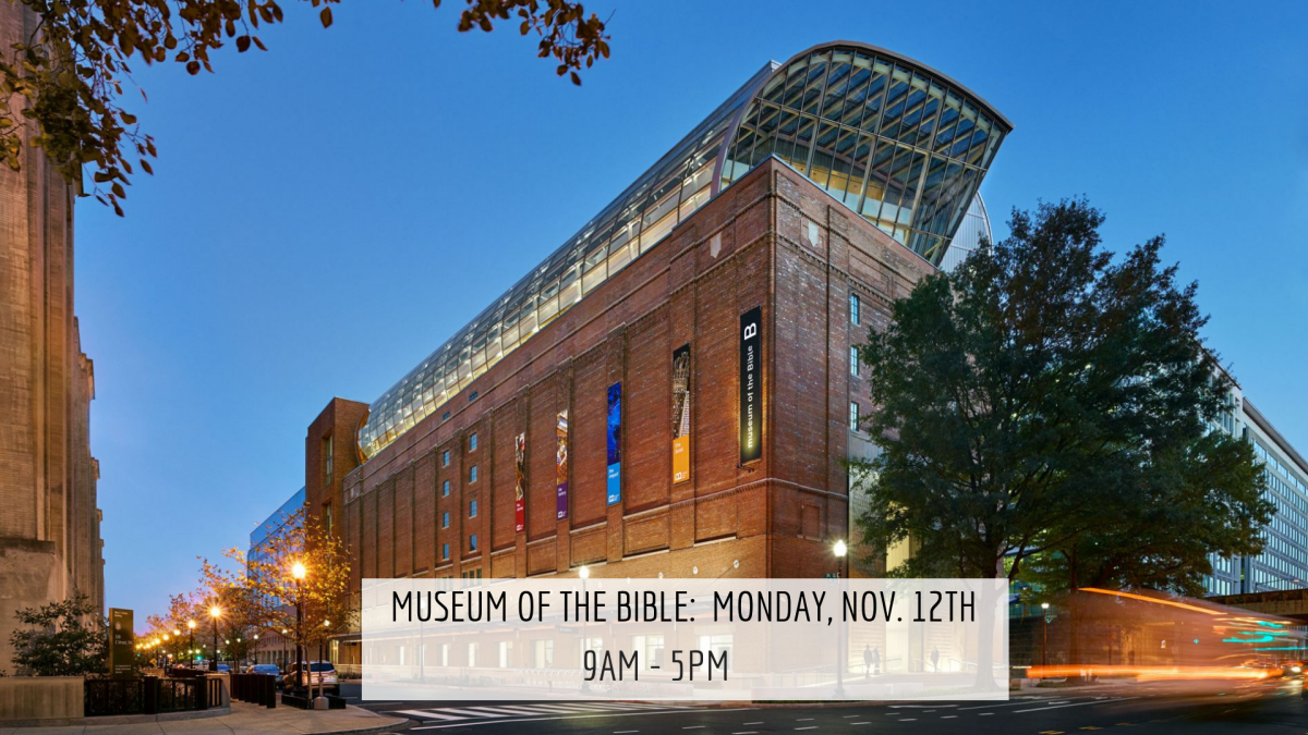 Museum of the Bible Field Trip
