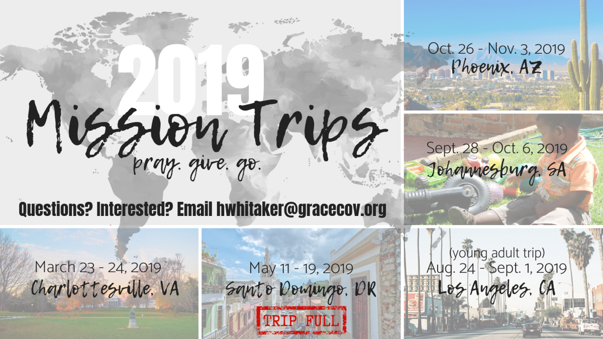 Charlottesville Missions Trip