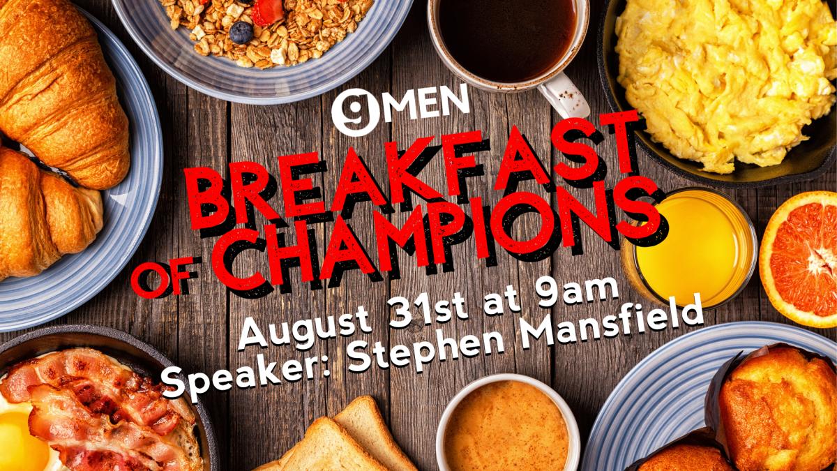 Men's Breakfast of Champions