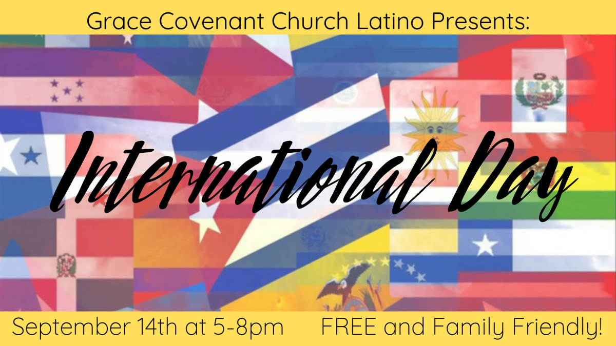 "GCC Latino presents ""International Day"""