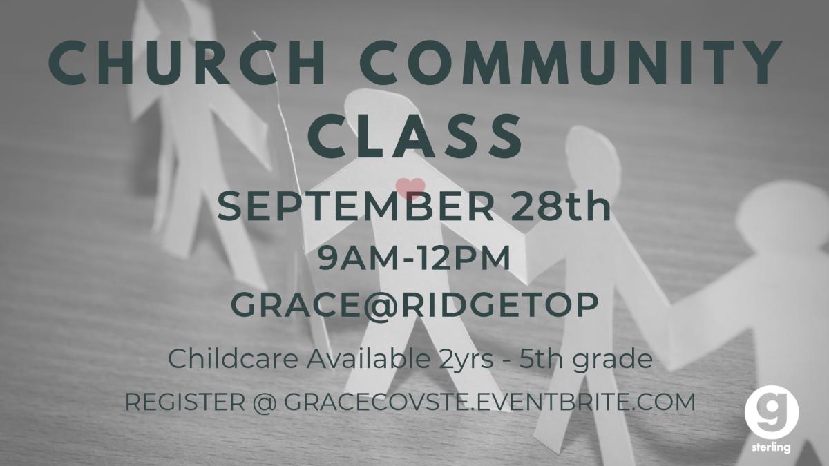 Church Community Class