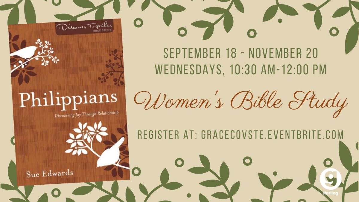 Women's Bible Study - Philippians: Discovering Joy through Relationship