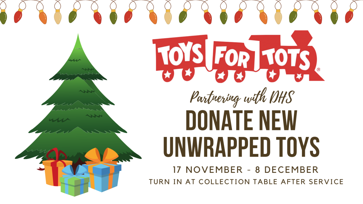 Toys for Tots Sunday Collections
