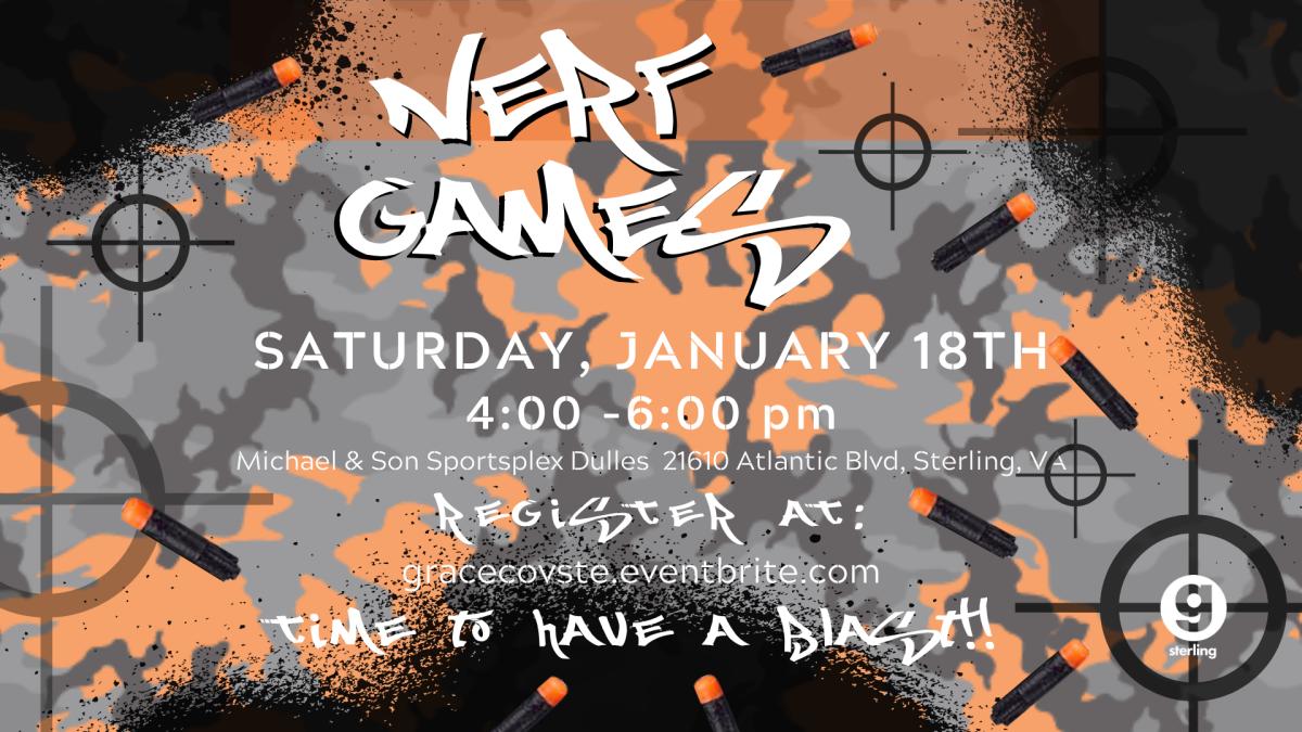 Nerf Games Jan. 2020!