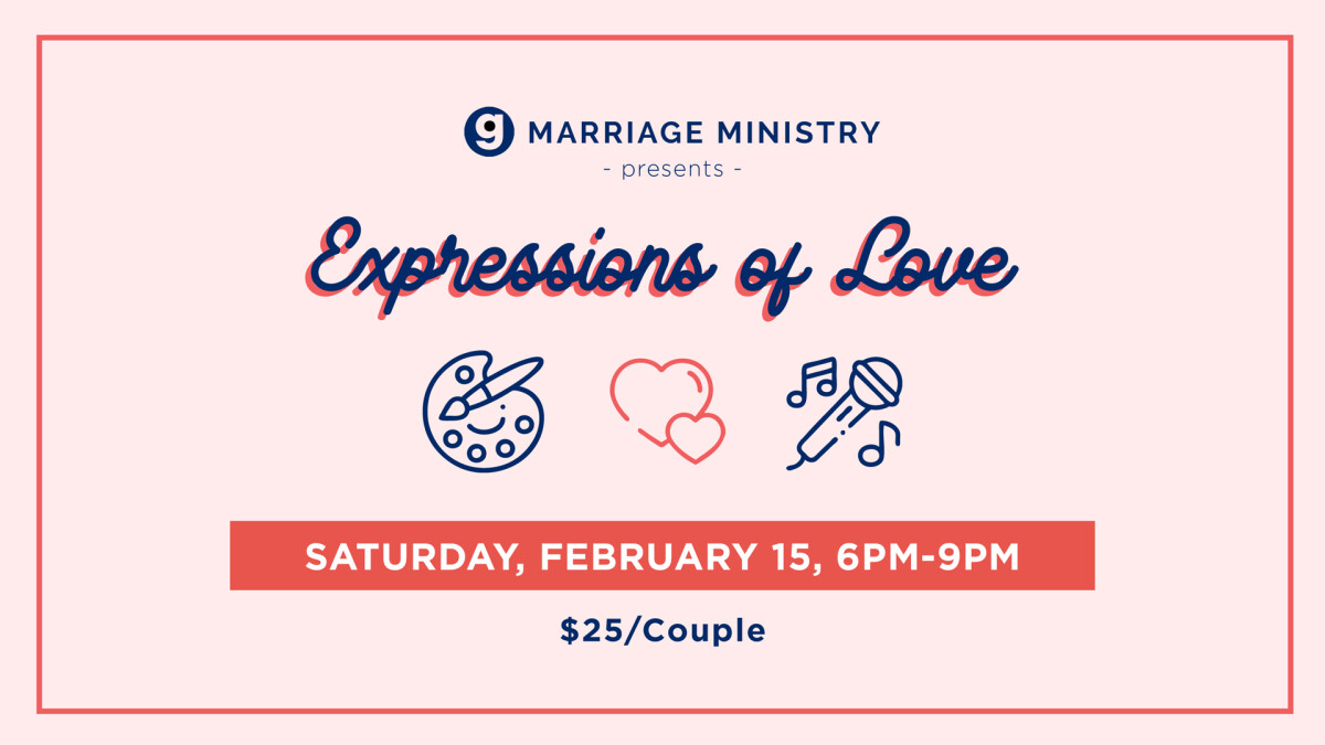 """Grace Covenant Marriage Ministry presents """"Expressions of Love"""""""