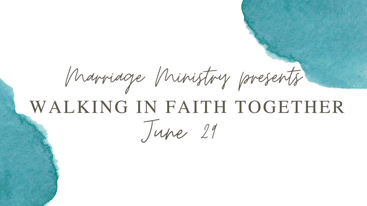 Marriage Mondays : Walking in Faith Together