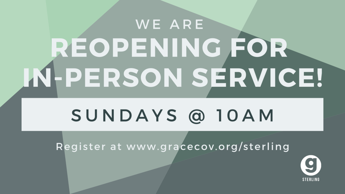 Grace Covenant Church-Sterling In-Person Sunday Service
