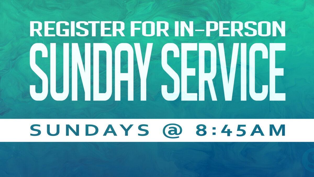 Sunday Service In-Person