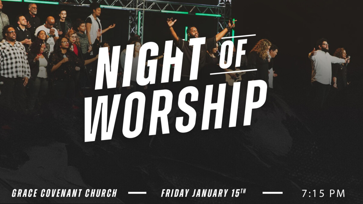 Night of Worship - In Chantilly