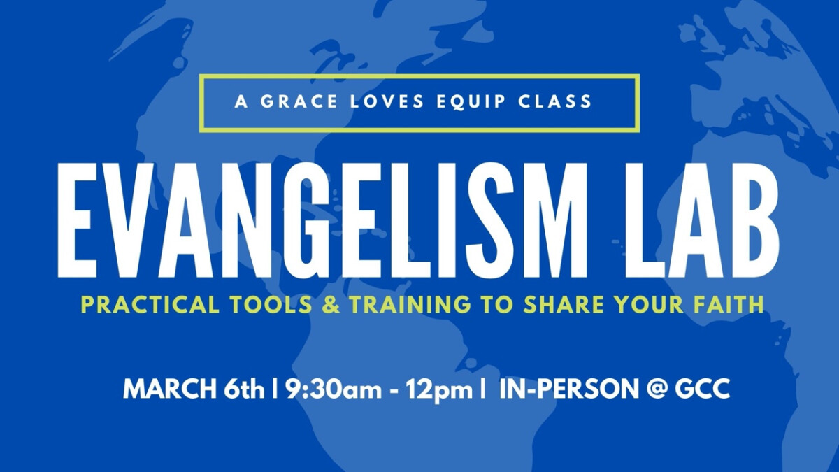 Evangelism Lab: A Practice Field for Hesitant Evangelists