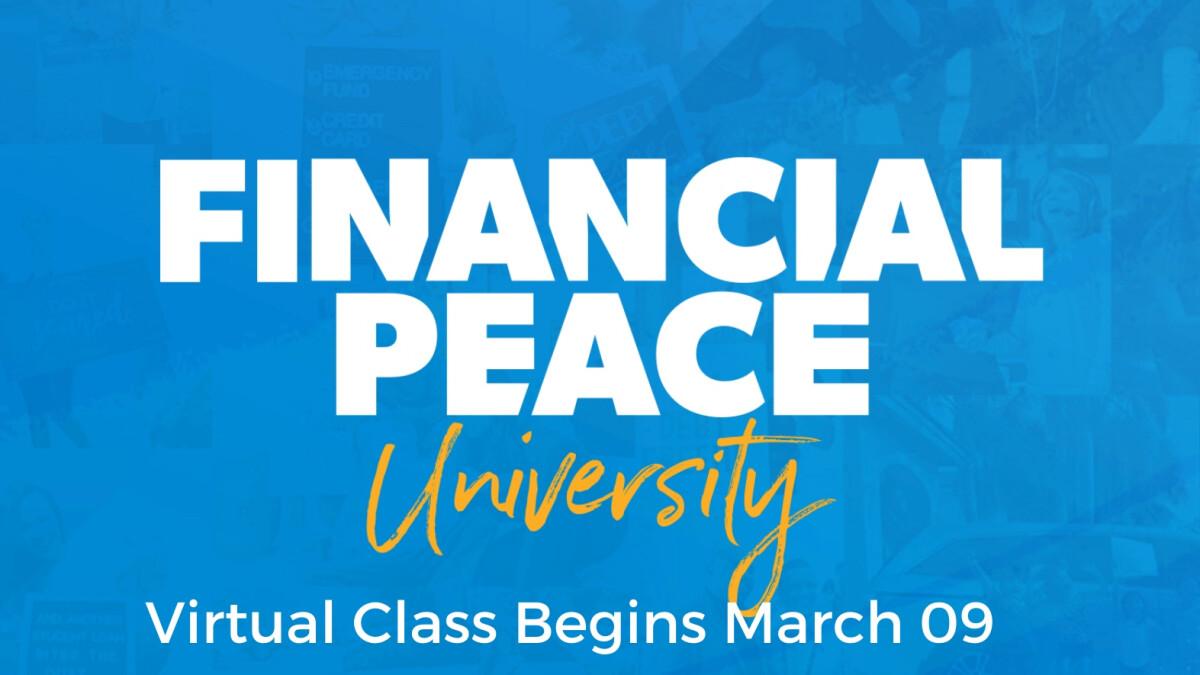 Financial Peace University - Virtual